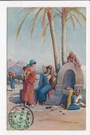 CPA EGYPTE ILLUSTRATION Femmes - Egypt