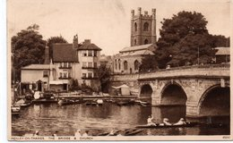 HENLEY-ON THAMES.THE BRIDGE&CHURCH-NON VIAGGIATA - Inghilterra