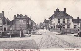 Veurne, Furnes, Pont De Nieuport Et Rue De L'Est (pk46995) - Veurne