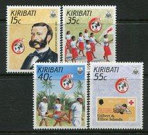 Kiribati 1988 125th Anniversary Of International Red Cross Set MNH (SG 284-87) - Kiribati (1979-...)