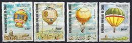 "Congo Aerien YT 308 à 311 (PA) "" Aerostats "" 1983 Neuf** - Nuovi"