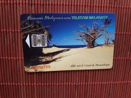 Phonecard Madagascar Used - Madagascar