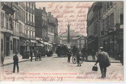 31  TOULOUSE  Rue Du Faubourg Saint Etienne  Colonne Du Général Dupuy Et Halle Aux Grains - Toulouse