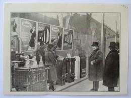 1931 - PARIS Grand Palais - Mr DOUMERGUE Au Salon Des Arts Ménagers - Coupure De Presse Originale (encart Photo) - Documents Historiques