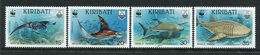 Kiribati 1991 Endangered Species - Fish Set MNH (SG 348-51) - Kiribati (1979-...)
