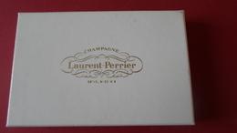 COFFRET DE 2 CENDRIER  CHAMPAGNE LAURENT PERRIER TOURS SUR MARNE  ****   A   SAISIR ***** - Cendriers