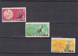 Cuba Nº 639 Al 641 - Cuba