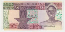GHANA 10 CEDIS 1982 UNC NEUF PICK 20d  20 D - Ghana
