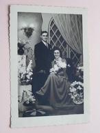 MARIAGE - HUWELIJK ( Foto Paul MESSELY Poststraat 3b MOORSELE ( Zie Foto ) ! - Guerre, Militaire
