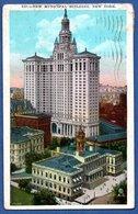 New York  --  New Municipal Bulding - Autres Monuments, édifices