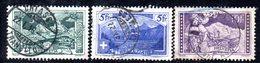 586 490 - SVIZZERA 1914 , Unificato Usato N. 142/144 - Gebruikt