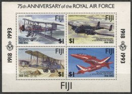 FIJI, HONG KONG EXPO SOUVENIR SHEET 1993, MNH - Fidji (1970-...)