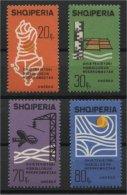 ALBANIA, HYDROLOGY / WATER, MNH SET 1966 - Albanie