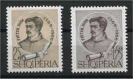 ALBANIA, PJETER BUDI MNH SET, 1966 - Albanie