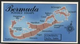 BERMUDA, BOOKLET FLOWERS 1993 - Bermudes