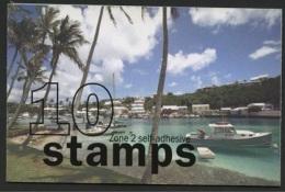 BERMUDA, SET OF 4 DIFFERENT BOOCKLETS SELF ADHESIVES 2008 LANDSCAPES - Bermudes
