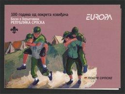 BOSNIA, SERB REPUBLIC EUROPA BOOKLET 2007 MNH - Bosnie-Herzegovine
