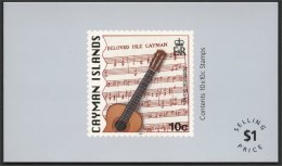 CAYMAN, ISLANDS BOOKLET GUITAR / MUSIC - Iles Caïmans