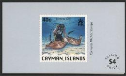 CAYMAN, ISLANDS BOOKLET STING RAY - Iles Caïmans