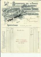 25 - Doubs - Morteau - Facture Bière Chopard - Brasserie De L'Aigle - 1916-Réf 25. - Francia
