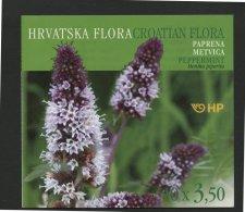CROATIA, SET OF 3 BOOKLETS PLANTS / FLOWERS 2004 - Croatie