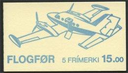 FAROE ISLANDS BOOKLET AIRPLANES 1985, MNH - Féroé (Iles)