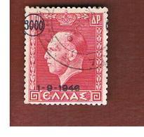 GRECIA (GREECE) - SG 645  -   1946  RESTORATION OF MONARCHY (OVERPRINTED)  - USED ° - Gebraucht