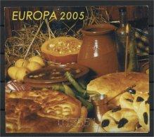 BULGARIA, EUROPA 2005 BOOKLET GASTRONOMY, MHN - 2005