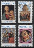 LESOTHO, CHRISTMAS 1987, MNH SET - Lesotho (1966-...)