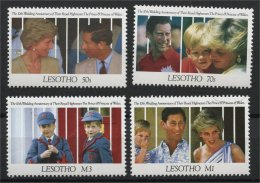 LESOTHO, 10th ANNIV. OF WEDDING PRINCE CHARLES PRINCESS DIANA - Lesotho (1966-...)