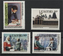 LESOTHO, RESTITUTION OF DEMOCRACY 1993, MNH SET - Lesotho (1966-...)