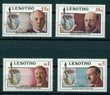 LESOTHO, CENTENIAL OF LIBERTY STATUE MNH SET - Lesotho (1966-...)