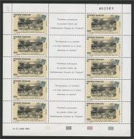 FRENCH POLYNESIA,  STAMP ON STAMP 1992, MINISHEET - Francobolli Su Francobolli