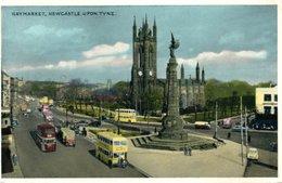 HAYMARKET--1957- VIAGGIATA - Newcastle-upon-Tyne
