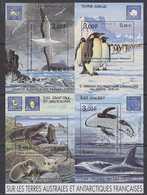 TAAF 2001 Sur Les Terres Australes Et Antarctiques Françaises M/s ** Mnh (39089) - Blokken & Velletjes