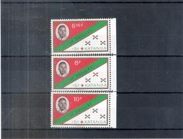 Katanga - 66/68 - Série Complète - XX/MNH - (à Voir) - Katanga