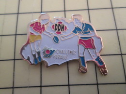 915a : Pin's Pins / RARE & BELLE QUALITE / THEME : SPORTS / RUGBY DDH CHALLENGE HERAULT - Rugby