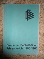 Deutscher Fussball-Bund 1965/1966 - Books, Magazines, Comics