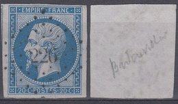 PC  226 Sur 14 - BADONVILLER (Meurthe) - Marcophily (detached Stamps)