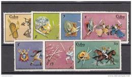 Cuba Nº 1319 Al 1325 - Cuba