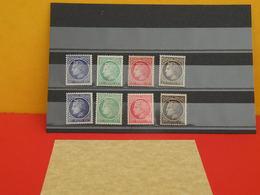 Lot 8 Timbres Neuf 1945/47 > Série N°674 à 6777 X 2 - 8 Val - Y&T - Type Cérès Mazelin - Coté 1,20€ - 1945-47 Cérès De Mazelin