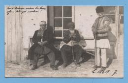 ROUMANIE - BALKANTYPEN - TÜRKEN ET RÖMANE - CARTES PHOTOS - SCHON STEMPEL - VOIR ZOOM - Romania
