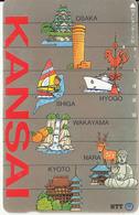 JAPAN - Kansai(331-123), 11/91, Used - Japan