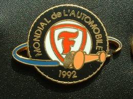 PNEU FIRESTONE - MONDIAL DE L'AUTOMOBILE 1992 - Badges