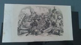 Gravure - Bataille De DENAIN Sous LOUIS XIV - Affiches