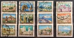 Lebanon  1966 Scenic USED  Set - Lebanon