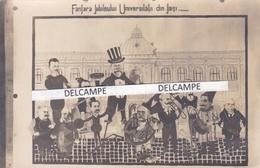 ROUMANIE  LASI ( Jassy Ou Jasi ) - Rare Carte Photo Humoristique Sur L'université Et Son Recteur - Romania