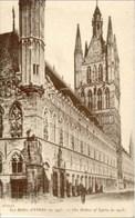 YPRES-IEPER - Les Halles En 1913 - Ieper