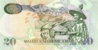 LESOTHO P. 16g 20 M 2009 UNC - Lesotho