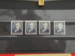 Lot 4 Timbres Neuf 1944 > Série N°619 - Y&T - Sesquincentenaire Du Télégraphe Optique Claude Chappe - Coté 1,20€ - France